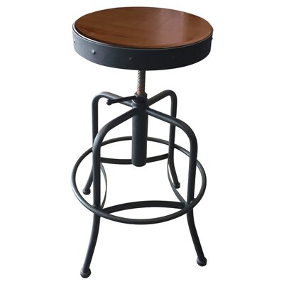 Adjustable Bar Stool Fabric: Beech - Medium