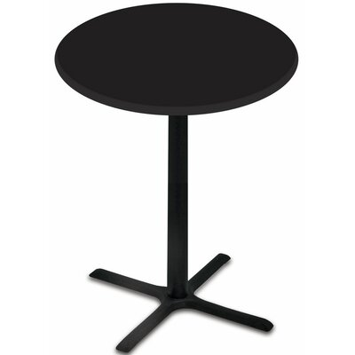 Bar Table Top Finish: Black, Table Size: 30 L x 30 W