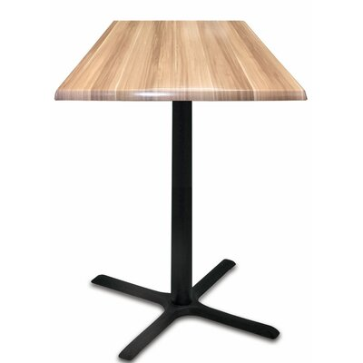 Bar Table Top Finish: Natural, Table Size: 36 L x 36 W