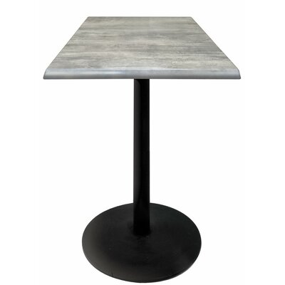 Bar Table Top Finish: Graystone