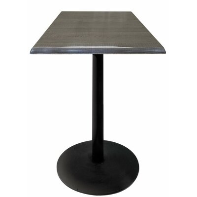 Bar Table Top Finish: Charcoal