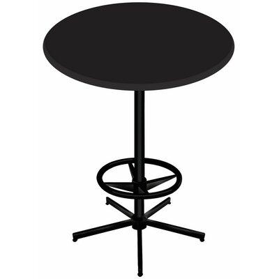 Bar Table Top Finish: Black, Table Size: 30 L x 30 W