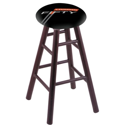18 Bar Stool Finish: Dark Cherry