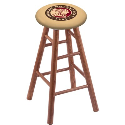 30 inch Bar Stool with Cushion Finish: Medium