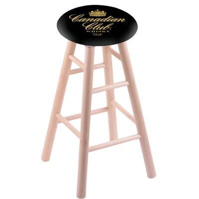 24 Bar Stool Finish: Natural