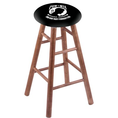 36 inch Bar Stool with Cushion Finish: Medium