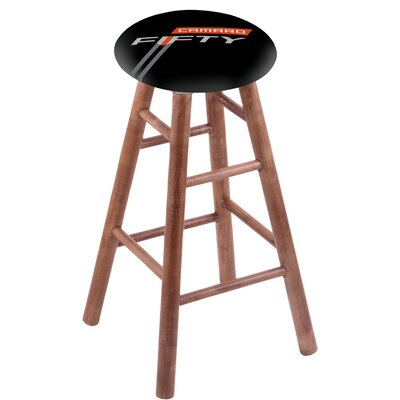 18 Bar Stool with Cushion Finish: Medium
