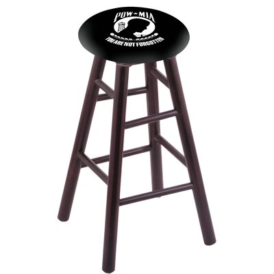 24 Bar Stool Finish: Dark Cherry