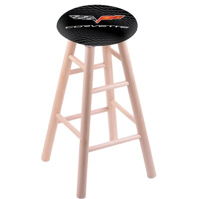 36 Bar Stool with Cushion Finish: Natural
