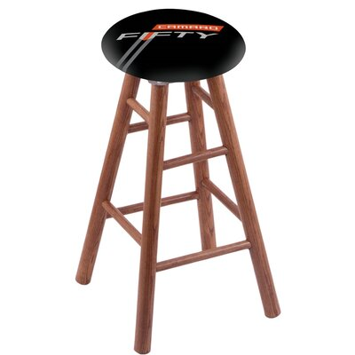 30 Bar Stool with Cushion Finish: Medium