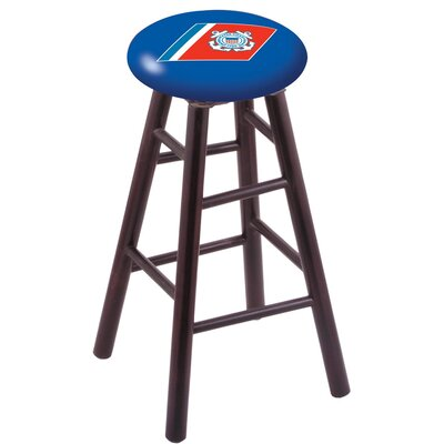 30 Bar Stool with Cushion Finish: Dark Cherry