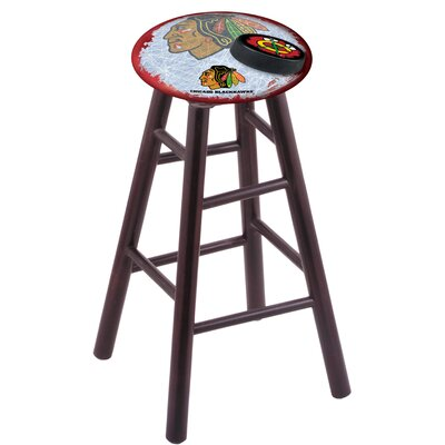 NHL 18 inch Bar Stool with Cushion