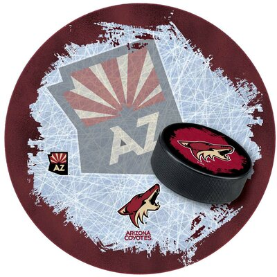 NHL Swivel Bar Stool NHL Team: Arizona Coyotes