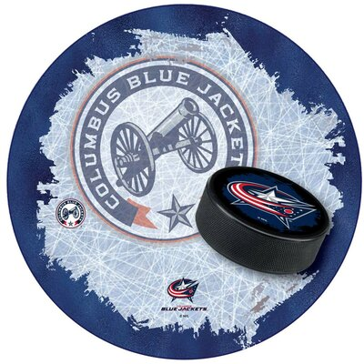 NHL Swivel Bar Stool NHL Team: Columbus Blue Jackets