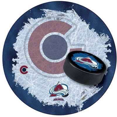 NHL Swivel Bar Stool NHL Team: Colorado Avalanche