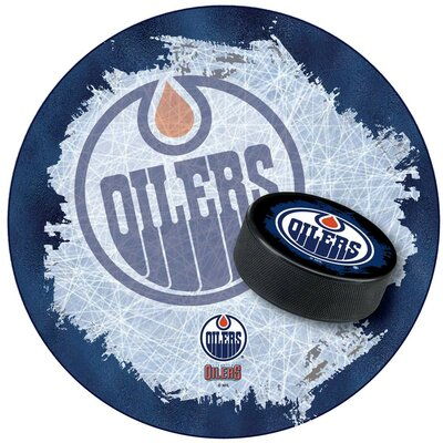 NHL Swivel Bar Stool NHL Team: Edmonton Oilers