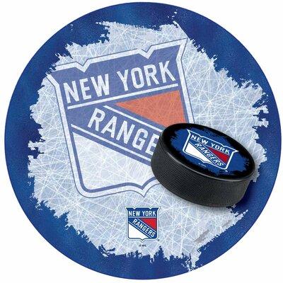 NHL Swivel Bar Stool NHL Team: New York Rangers