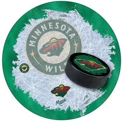 NHL Swivel Bar Stool NHL Team: Minnesota Wild