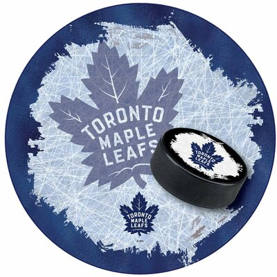 NHL Swivel Bar Stool NHL Team: Toronto Maple Leafs