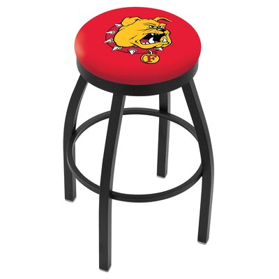 NCAA 25 Swivel Bar Stool NCAA Team: Ferris State