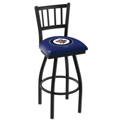 NHL 36 Swivel Bar Stool NHL Team: Winnipeg Jets