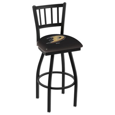 NHL 36 Swivel Bar Stool NHL Team: Philadelphia Flyers - Black