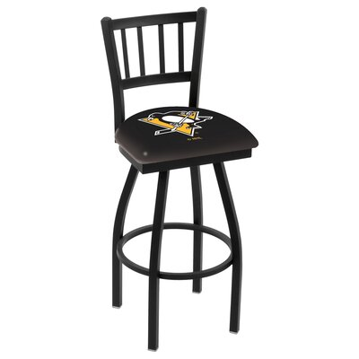 NHL 36 Swivel Bar Stool NHL Team: Pittsburgh Penguins