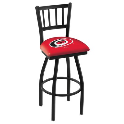 NHL 36 Swivel Bar Stool NHL Team: Carolina Hurricanes