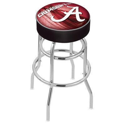 NCAA 25 Swivel Bar Stool