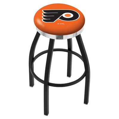 NHL 25 Swivel Bar Stool NHL Team: Philadelphia Flyers - Orange