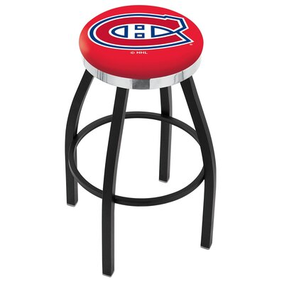 NHL 25 Swivel Bar Stool NHL Team: Montreal Canadians