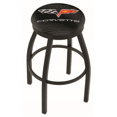 36 Swivel Bar Stool Finish: Black