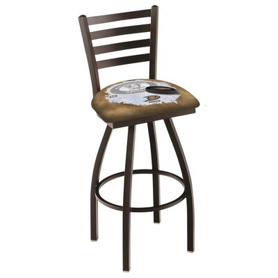 NHL Swivel Bar Stool with Cushion NHL Team: Anaheim Ducks