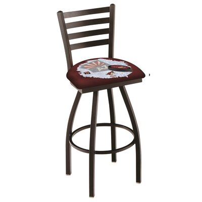 NHL Swivel Bar Stool with Cushion NHL Team: Arizona Coyotes