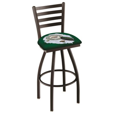 NHL Swivel Bar Stool with Cushion NHL Team: Minnesota Wild