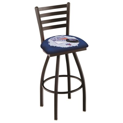 NHL Swivel Bar Stool NHL Team: New York Rangers