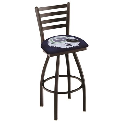 NHL Swivel Bar Stool with Cushion NHL Team: Vancouver Canucks