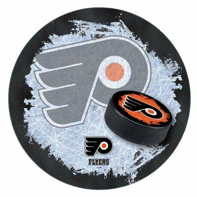 NHL Swivel Bar Stool NHL Team: Philadelphia Flyers - Black
