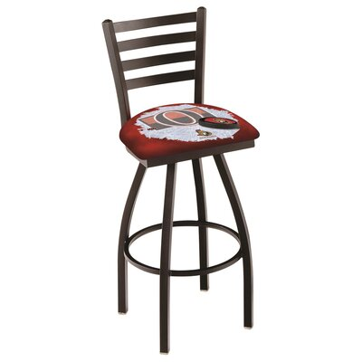 NHL Swivel Bar Stool with Cushion NHL Team: Ottawa Senators