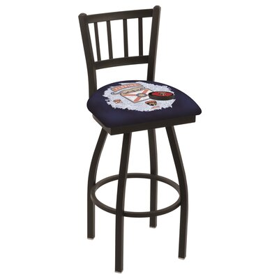NHL Swivel Bar Stool with Cushion NHL Team: Florida Panthers