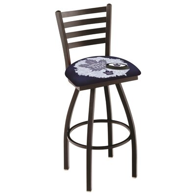NHL Swivel Bar Stool with Cushion NHL Team: Toronto Maple Leafs