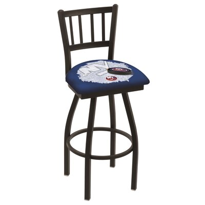NHL Swivel Bar Stool with Cushion NHL Team: New York Islanders