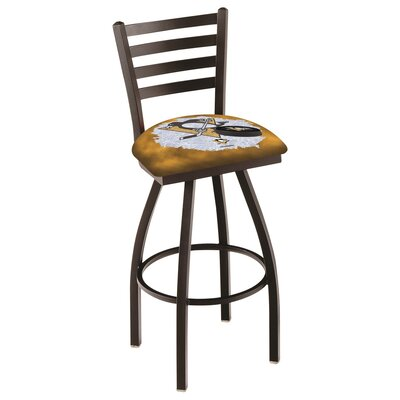 NHL Swivel Bar Stool with Cushion NHL Team: Pittsburgh Penguins
