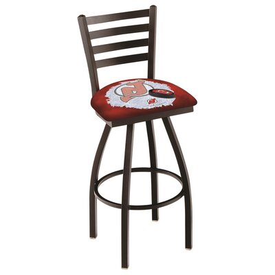 NHL Swivel Bar Stool with Cushion NHL Team: New Jersey Devils