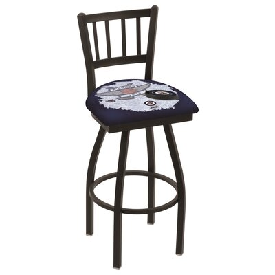 NHL Swivel Bar Stool NHL Team: Winnipeg Jets