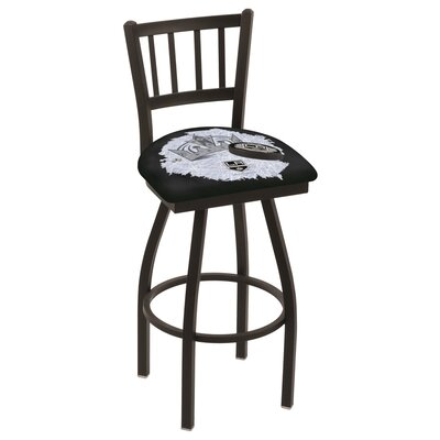 NHL Swivel Bar Stool with Cushion NHL Team: Los Angeles Kings