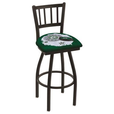 NHL Swivel Bar Stool with Cushion NHL Team: Dallas Stars