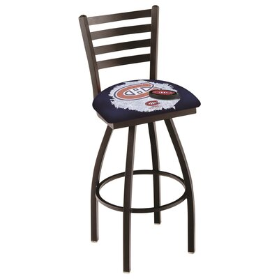 NHL Swivel Bar Stool with Cushion NHL Team: Montreal Canadiens