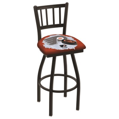 NHL Swivel Bar Stool NHL Team: Philadelphia Flyers - Orange