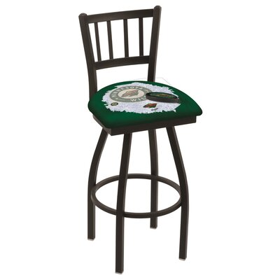 NHL Swivel Bar Stool NHL Team: Minnesota Wild